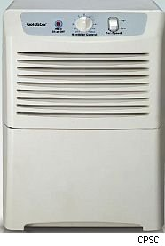Alert issued on Comfort-Aire, Goldstar dehumidifiers.