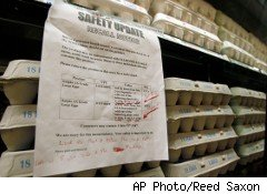 Wight County Egg expanded its recall Thursday to 380 million eggs as a result of salmonella.