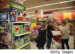 Kmart shoppers in the Bronx, N.Y.