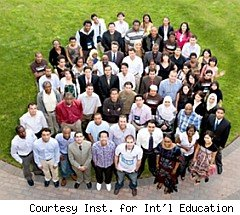 Group of Fulbright scholars
