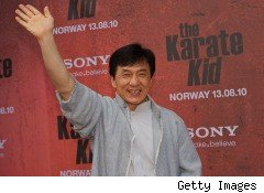 Jackie Chan movies, advertisements