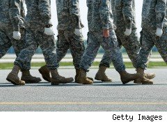 Military, U.S. Army, marching, Dover Air Force Base