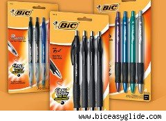 BiC Easy Glide pens