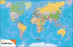 Free world map - AOL Finance