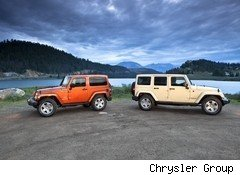 Chrysler Unveils Updated Jeep Wrangler SUV