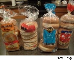 Store Brand Scorecard bagel test