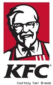 KFC logo with Colonel Sanders