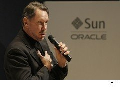 Larry Ellison, CEO of Oracle
