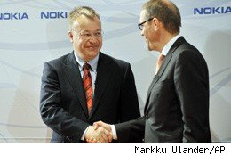 Nokia Chairman Ollila Will Stay Until Spring 2012 to Aid CEO Elop Transition