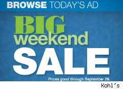 Kohl's weekend sale ad