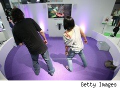 Microsoft's Kinect is putting up a viable challenge to the Nintendo Wii, which saw its shipments stumble in 2010.