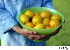 bowl of lemons - alternative uses for lemons