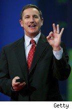 Oracle hires former HP CEO Mark Hurd - Hurd here Ok sign