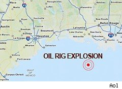 oil rig map
