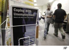 Jobless claims unemployment office