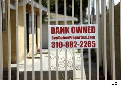 Bank owned foreclosure home