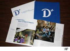 Pieces of Drake University's marketing campaign