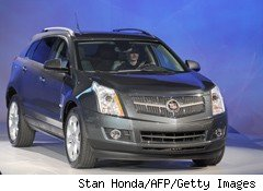 GM Recalls 4,000 Cadillac SRXs for Fluid Leak