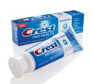 friday freebies - Crest pro-health sample