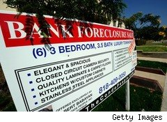 foreclosures ease