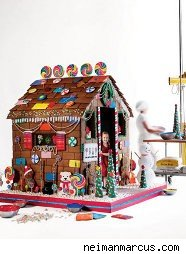 $15,000 gingerbread house from the Neiman Marcus catalog
