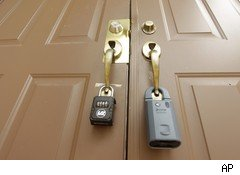 foreclosure locks