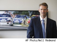 Steve Phelps, chief marketing officer of NASCAR, is the next Undercover Boss.