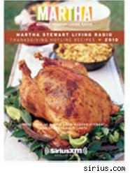 Martha Stewart's Thanksgiving Hotline Recipes cookbook