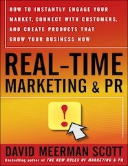 real-time marketing book by David Meerman Scott