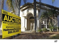 Auction of foreclosed bank owned property