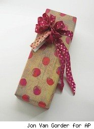 a nicely wrapped gift