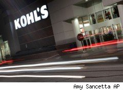 Kohl's s tore at night