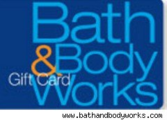 Bath & Body Works gift card