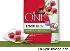 Purina ONE Smartblend pet food
