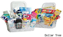 care packages possible from the dollar store