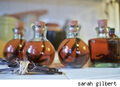 bottles of homemade vanilla  homemade gifts get you into the financial holiday spirit