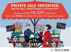 L'Occitane coupon