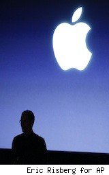 Apple logo sillouette - Apple Mac App Store