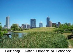 Austin Texas skyline Best places to retire