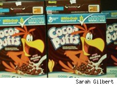 Cocoa puffs - general mills cereal
