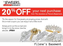 Filene's Basement coupon