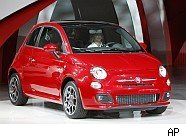New Fiat 500 automobile