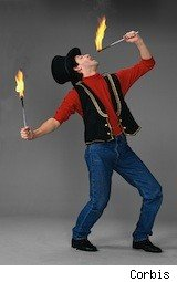a fire eater is a good candidate for an odd scholarship
