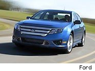 Ford Fusion hybrid is one of 2010's best cars