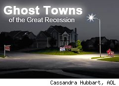 ghost towns of the great recession
