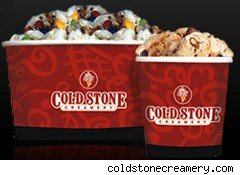 Coldstone Creamery ice cream cups