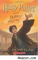 Book cover for Harry Potter and the Deathly Hallows