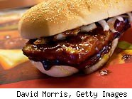 McRib gets pulled of the Mcdonald's menu again in 2010