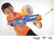 NERF N-Strike Stampede ECS toy gun is a top seller in 2010