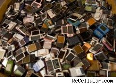 Clutter and used cellphones